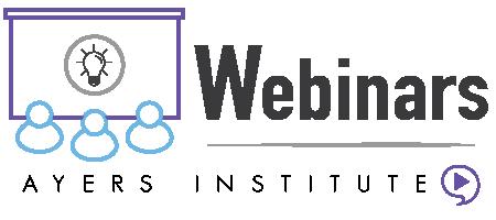 Ayers Institute webinar icon