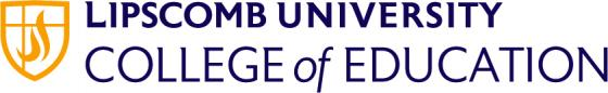 Lipscomb College of Education logo